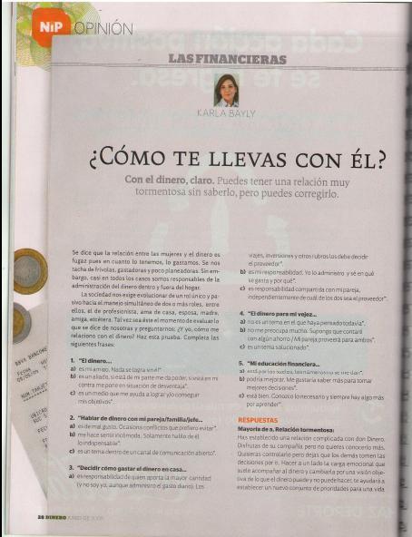 Revista Dinero Inteligente Expansión Junio 2009